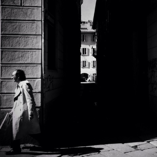 A man walks in the Brera district of Milan on March 27, 2015 in Milan, Italy. Milan was named as the 2015 Universal Exposition hosting city. It will run from May 1 until October 31, 2015. (Photo by Vittorio Zunino Celotto/Getty Images)