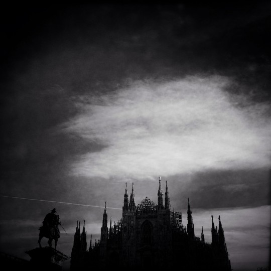 A general view of the Duomo on December 29, 2014 in Milan, Italy. Milan was named as the 2015 Universal Exposition hosting city. It will run from May 1 until October 31, 2015. (Photo by Vittorio Zunino Celotto/Getty Images)