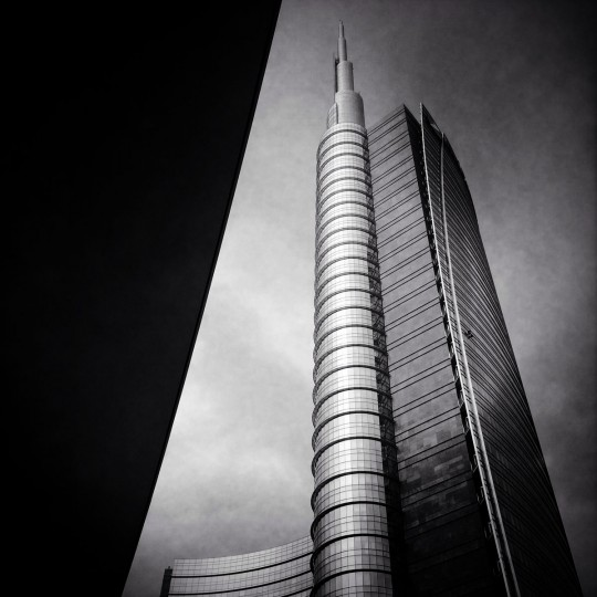 A general view of the Unicredit Tower on September 16, 2014 in Milan, Italy. Milan was named as the 2015 Universal Exposition hosting city. It will run from May 1 until October 31, 2015. (Photo by Vittorio Zunino Celotto/Getty Images)