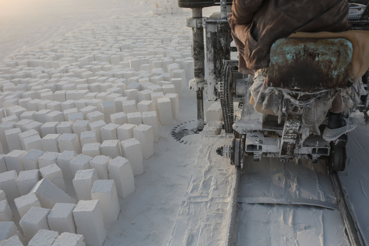 Egypt's limestone quarry workers