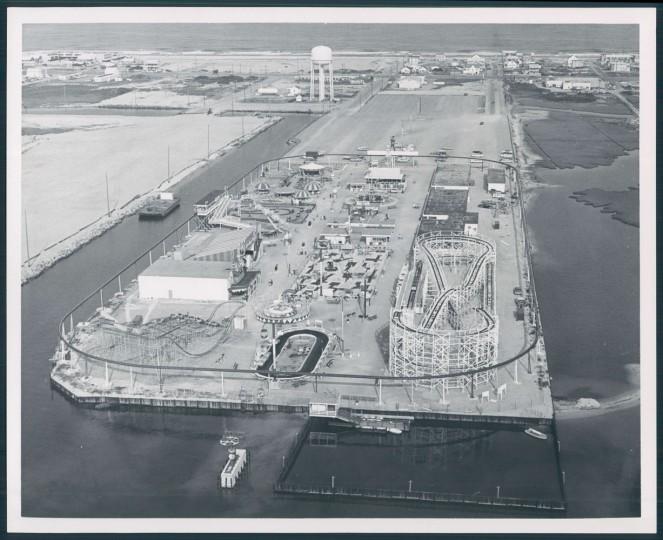 Amusement park in Ocean City, 1965.