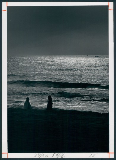 And one may end the day quietly watching night settle over the water. Aug. 25, 1967.