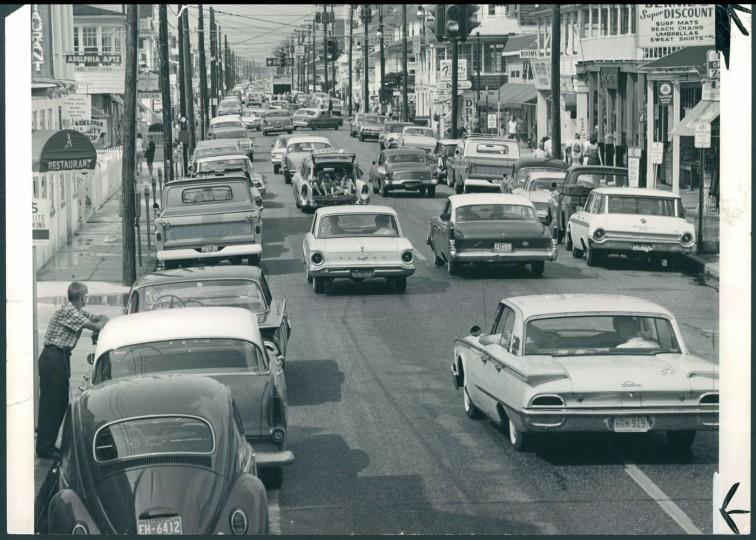 Baltimore Avenue, 1964.