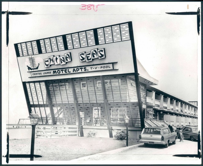 China Seas motel, Sept. 19, 1965.