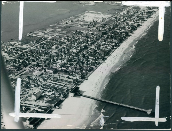 Ocean City from the air, Aug. 4, 1940.