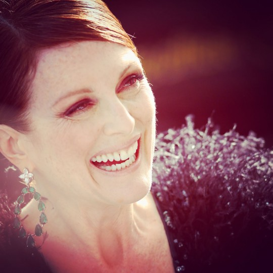 Julianne Moore seen during the 68th annual Cannes Film Festival on May 13, 2015 in Cannes, France. (Photo by Tristan Fewings/Getty Images)