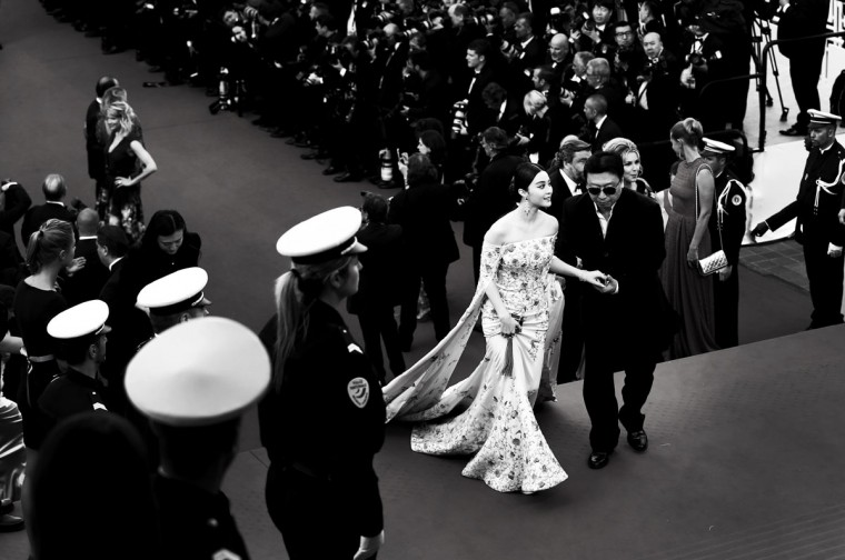 Fan Bingbing attends the opening ceremony and premiere of 'La Tete Haute' during the 68th annual Cannes Film Festival on May 13, 2015 in Cannes, France. (Photo by Andreas Rentz/Getty Images)