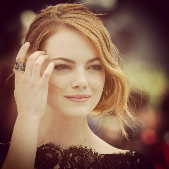 Emma Stone attends the 'Irrational Man' Photocall during the 68th annual Cannes Film Festival on May 15, 2015 in Cannes, France. (Photo by Pascal Le Segretain/Getty Images)