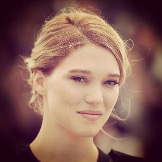 """Actress Lea Seydoux attends a photocall for """"The Lobster"""" during the 68th annual Cannes Film Festival on May 15, 2015 in Cannes, France. (Photo by Pascal Le Segretain/Getty Images)"""