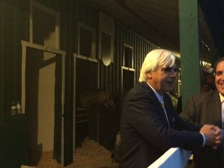 Bob Baffert, American Pharoah's Hall of Fame trainer. (Quinn Kelley/Baltimore Sun)