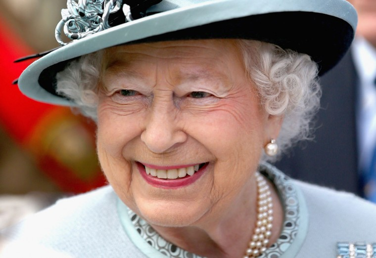 Queen Elizabeth II smiles at a Magna Carta 800th Anniversary Commemoration Event on June 15, 2015 in Runnymede, United Kingdom. Members of the Royal Family are visiting Runnymede to attend an event commemorating the 800th anniversary of Magna Carta. Magna Carta is widely recognised as one of the most significant documents in history. Its influence, as a cornerstone of fundamental liberties, is felt around the world in the constitutions and political traditions of countless nations. (Photo by Chris Jackson - WPA Pool / Getty Images)