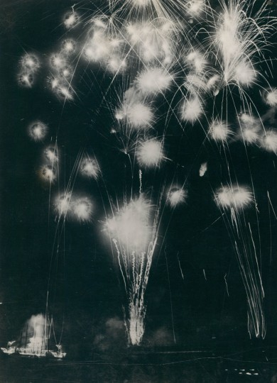 Fireworks, 1931. (Baltimore Sun archives)