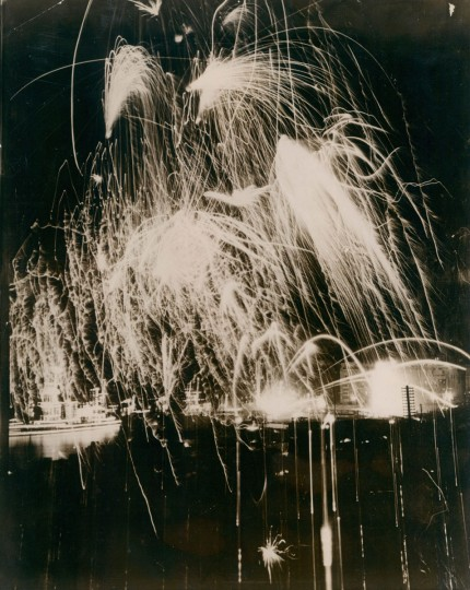 Fireworks, 1921. (Baltimore Sun archives)