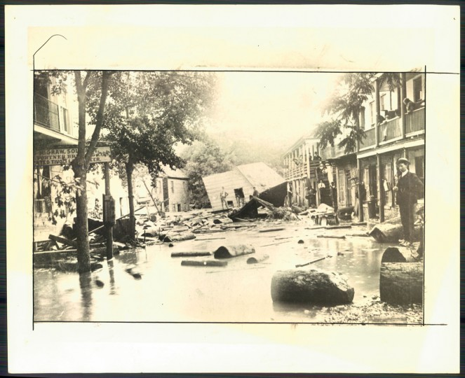 Harpers Ferry flood in 1889. (Baltimore Sun archives)