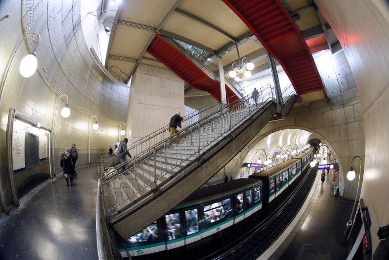 July 19, 1900: The Paris Metro opened for the first time on July 19, 1900. Now, there are 16 lines as part of the network. (PATRICK KOVARIKPATRICK KOVARIK/AFP/Getty Images )