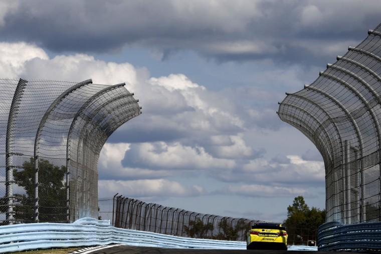 Matt Kenseth, driver of the #20 Dollar General Toyota, practices for the NASCAR Sprint Cup Series Cheez-It 355 at Watkins Glen International on August 7, 2015 in Watkins Glen, New York. (Jeff Zelevansky/Getty Images)