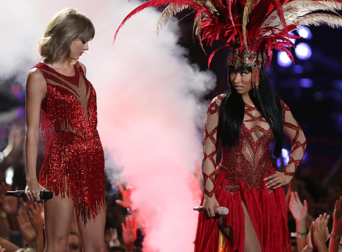 Taylor Swift Nicki Minaj