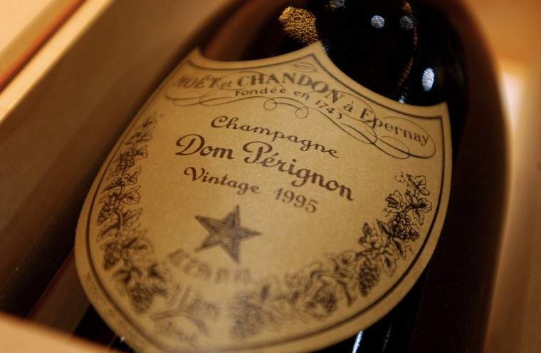 Aug. 4, 1693: Dom Perignon is credited with inventing champagne on this day more than 300 years ago, but there remains some doubt as to how much he contributed. (Ramin Talaie/Bloomberg News photo)