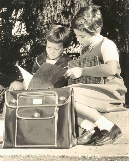 Back to school, 1964. (Baltimore Sun archives)