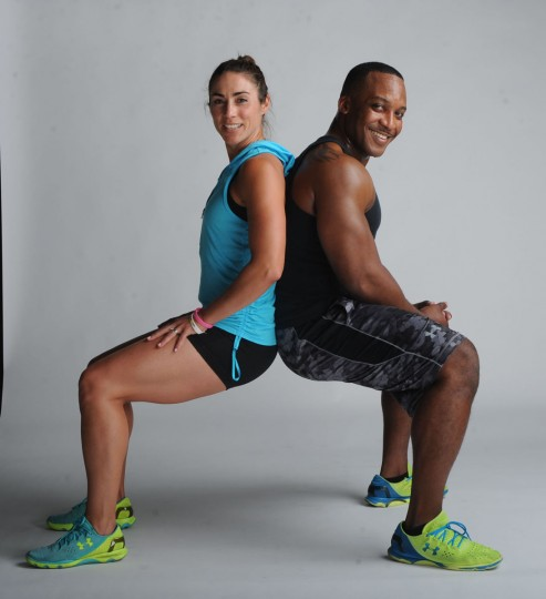 Amanda Poppleton Ashe and Reese Ashe are gym owners, personal trainers and group fitness instructors at Reflex Fitness. Learn more about them. (Kim Hairston/Baltimore Sun)