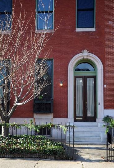 A Reservoir Hill home pictured Dec. 13, 2011. (Barbara Haddock Taylor / Baltimore Sun)