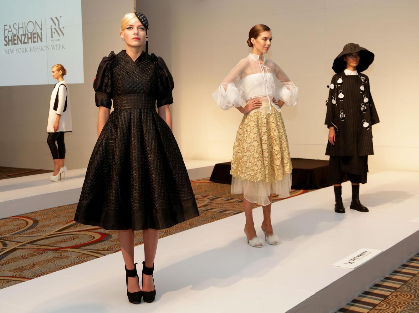 Fashion Shenzhen Emerging Designers Presentation Spring 2016 New York Fashion Week The Shows