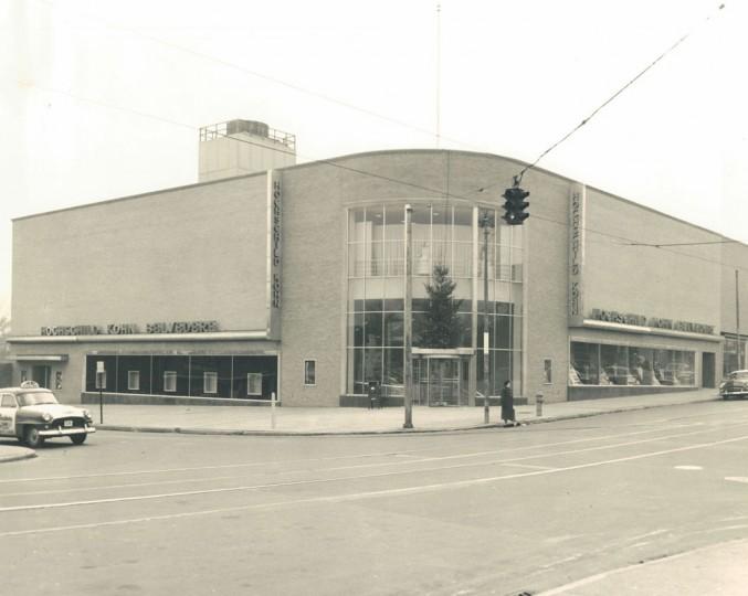 Hochschild Kohn on Belvedere Ave in 1954. (Baltimore Sun archives)