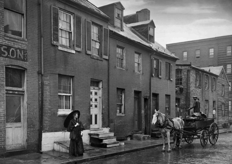 1945 - Arabber, (A. Aubrey Bodine/Baltimore Sun)