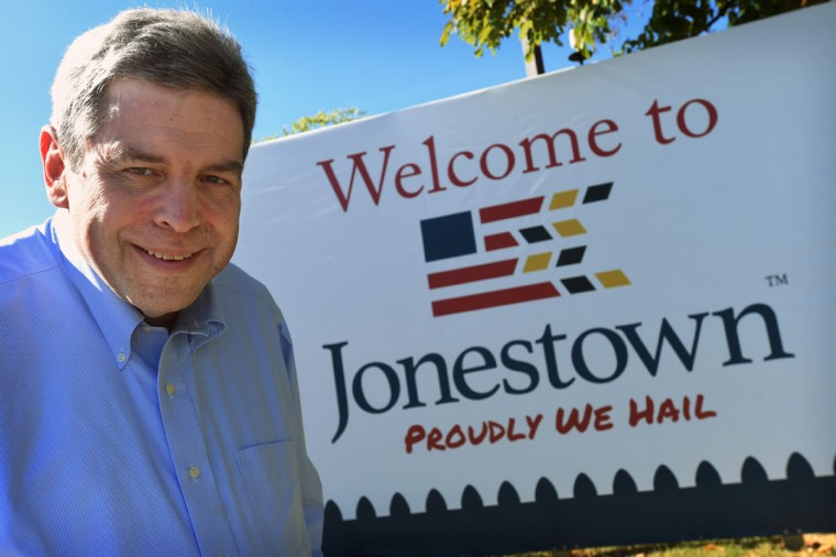 Marvin Pinkert, executive director of the Jewish Museum of Maryland, is leading a master planning process to brand the Jonestown neighborhood in order to drive traffic to the local cultural institutions, museums and to encourage investors to go forward with developments. (Kenneth K. Lam/Baltimore Sun/Oct. 6, 2015)
