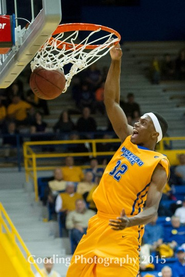 HONORABLE MENTION Name: Brent Arrington College: Morehead State Position: Guard Year: Grad student High school: Lansdowne Hometown: Baltimore 2014-15 stats: 11.1 points, 40.5% FG, 28.1 minutes A preseason All-Ohio Valley pick, Arrington was the Eagles' second-leading scorer as a junior and finished third in the conference in steals (1.91 per game). Photo courtesy of Morehead State athletics