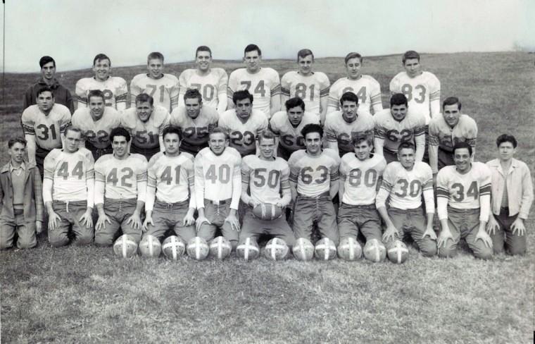 Patterson Park High School team, 1947. (Frank A. Miller/Baltimore Sun)