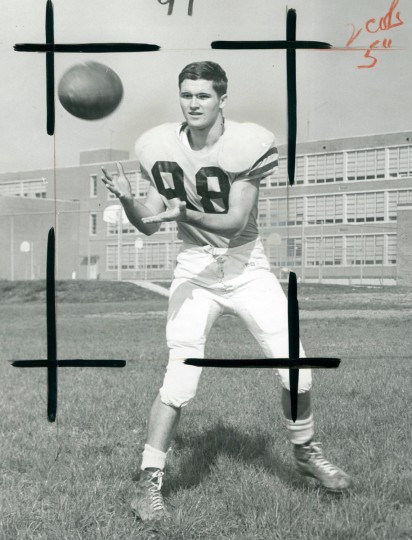Bob Frank of Archbishop Curley High School. (Ellis Malashuk/Baltimore Sun, 1966)