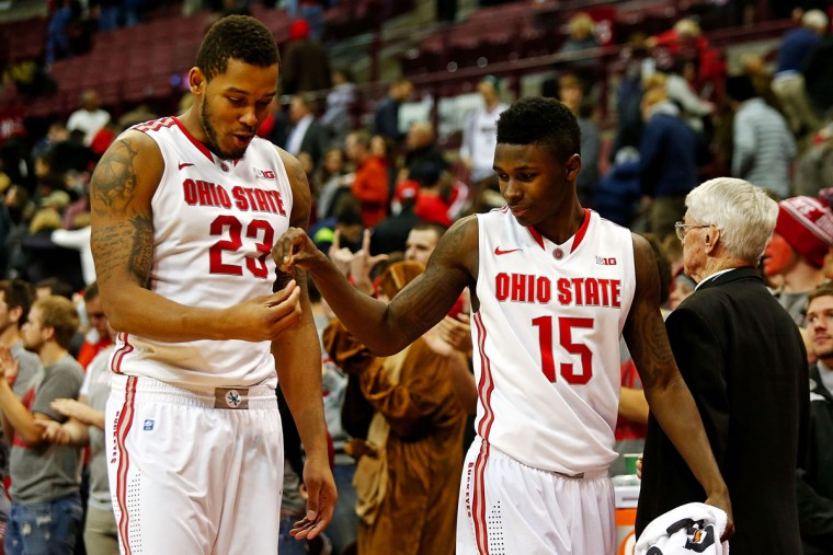Name: Kam Williams College: Ohio State Position: Guard Year: Redshirt Sophomore High school: Mount Saint Joseph Hometown: Baltimore 2014-15 stats: 5.4 points, 1.0 rebounds, 45.2 FG %, 34.6% 3, 14.3 minutes His overall numbers might have been modest, but in a December win over High Point, Williams offered a preview of what could come more regularly this season. The former Gaels star poured in 23 points on 8-for-10 shooting, including 4 of 5 from 3-point range. Williams is competing with a couple of talented freshmen for minutes at the 2, but he's locked into the rotation and Buckeyes coaches will once again look to him for outside shooting. Photo by Kirk Irwin/Getty Images