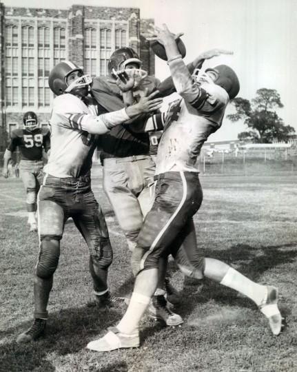 Mervo versus Patterson at City College. (Baltimore Sun archives, 1959)