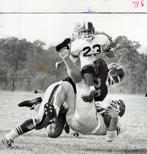 Patterson Park football. (William LaForce/Baltimore Sun, 1964)