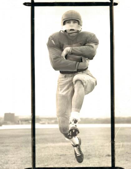 Stan Zebron of Southern High School. (Ralph Robinson/Baltimore Sun, 1957)