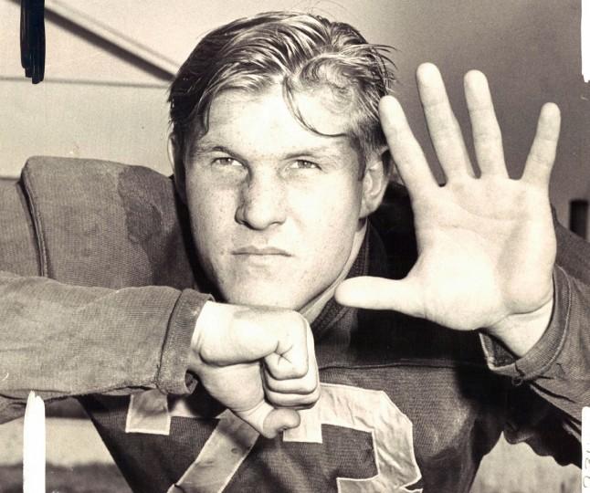 John Neal of Southern High School. (William Klender/Baltimore Sun, 1958)