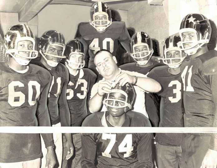 Southern High's star studded bulldogs. (Baltimore Sun archives, 1963)