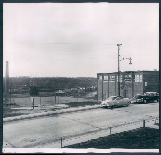 A view of the Cherry Hill Community Center on Nov. 15, 1954. (Baltimore Sun photo)