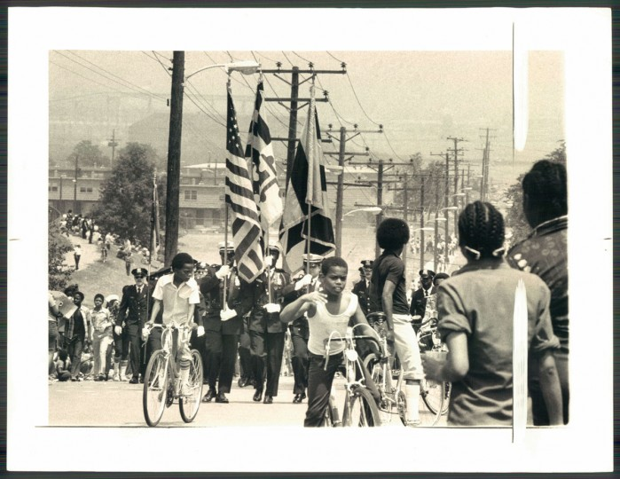 A view of the Cherry Hill Parade on May 21, 1977. (Baltimore Sun photo)