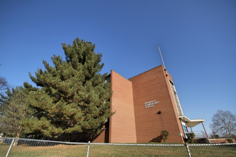 Patapsco Elementary at Carver and Bunch. (Kalani Gordon/Baltimore Sun)