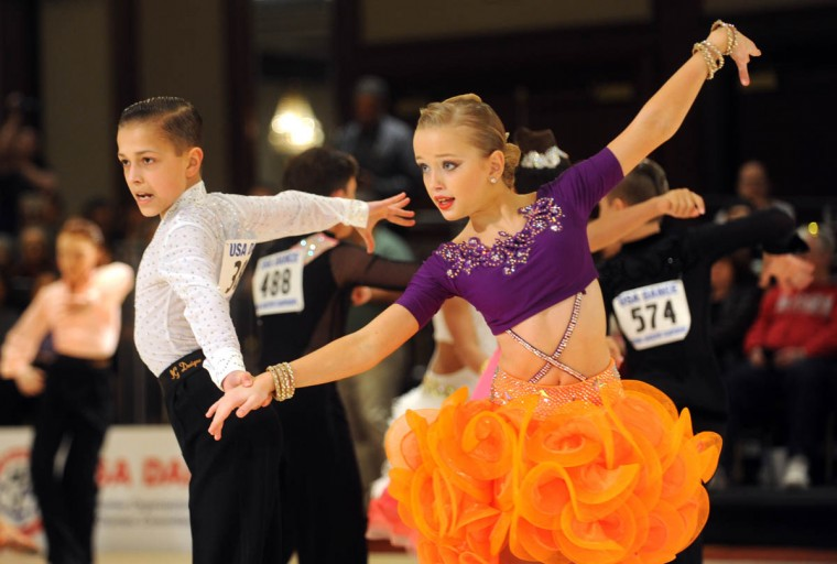 Mark Starovoytov and Molly Strout from MA compete in the Amateur Junior/Pre-Champ Latin (SCRJ). USA Dance 2015 National DanceSport Championships continued this weekend at the Renaissance Baltimore Harborplace Hotel. (Algerina Perna, Baltimore Sun)