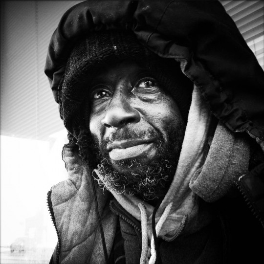 Robert Thomas is 64 and homeless on the streets of Baltimore. (Lloyd Fox/Baltimore Sun)