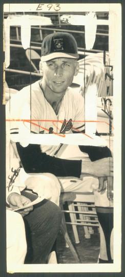 Cal Ripken Sr. is pictured on Nov. 13, 1968. (Baltimore Sun photo)