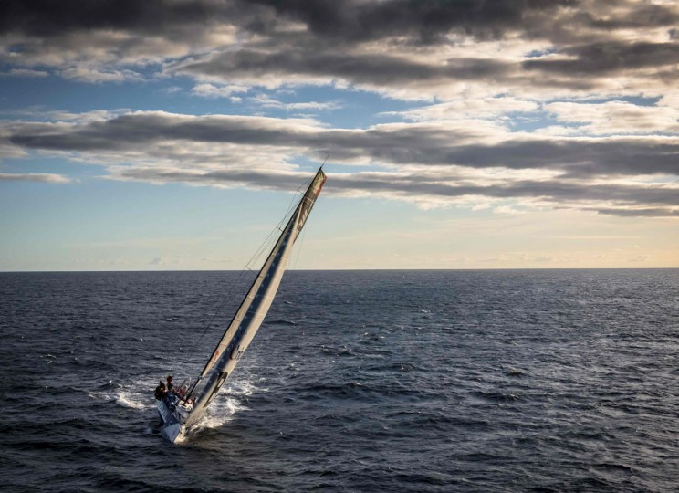 This handout photo from Rolex taken on December 29, 2015 shows Masarati during the Sydney to Hobart yacht race. (KURT ARRIGO/AFP/Getty Images)