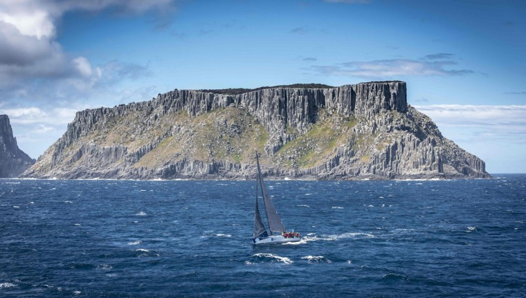 This handout photo from Rolex taken on December 29, 2015 shows Farr type 52 yacht Ragamuffin 52 during the Sydney to Hobart yacht race. (KURT ARRIGO/AFP/Getty Images)