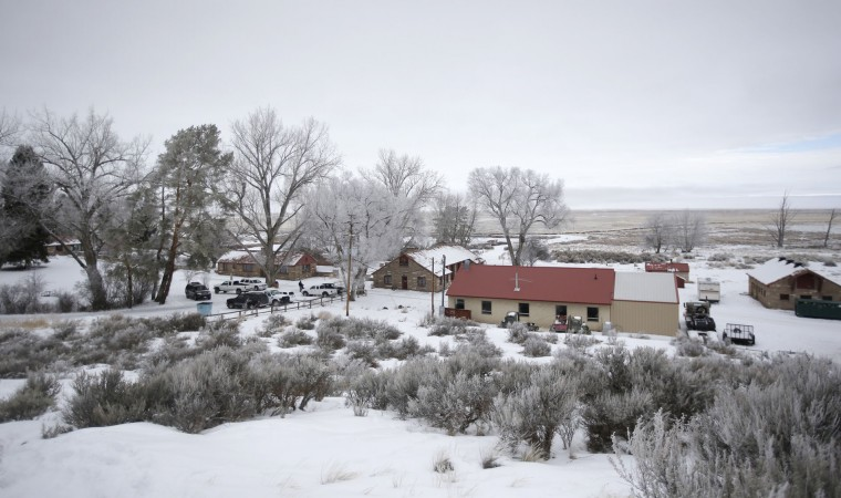 "The Malheur National Wildlife Refuge headquarters is shown Thursday, Jan. 7, 2016, near Burns, Ore. Cheers erupted at a packed community meeting in rural Oregon when a sheriff said it was time for a small, armed group occupying a national wildlife refuge to ""pick up and go home."" (AP Photo/Rick Bowmer)"