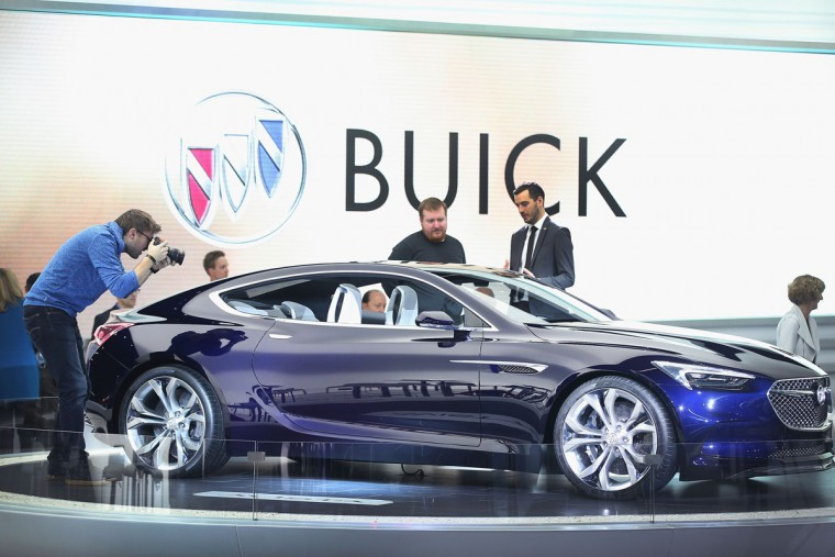 Buick shows off the Avista concept at the North American International Auto Show on January 12, 2016 in Detroit, Michigan. The show is open to the public from January 16-24. (Photo by Scott Olson/Getty Images)
