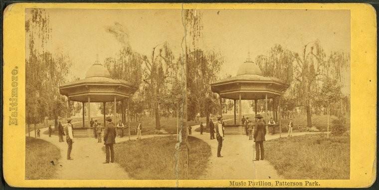 Music Pavilion, Patterson-Park
