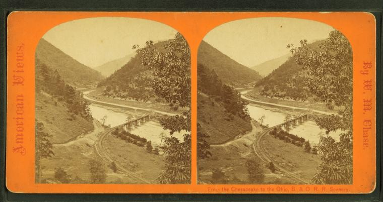 Will's Mountain, Cumberland, circa 1880